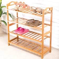 ikea shoe rack wood wooden