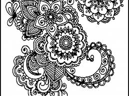 Difficults Adults Mandala Coloring Pages Colorine