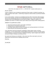 Sample Resume For Team Lead Position Team Leader Cover Letter Sample Resume Templates For Warehouse