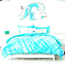 tie dye bedding twin xl comforter blue white bed sea creature pillow tie dye duvet cover twin xl