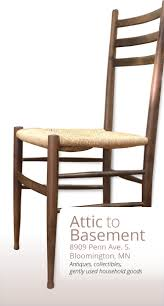 1960s italian gio ponti dining chair with a rush seat stamped made