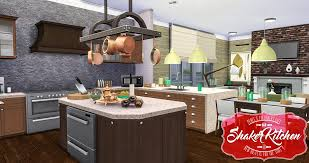 Updated Kitchens Simsational Designs Shaker Kitchen Updated Sims 4 Pinterest