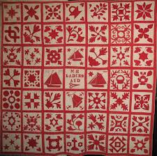 Red and White quilt from the NYC show at the Armory | Quilting ... & Red and White quilt from the NYC show at the Armory Adamdwight.com