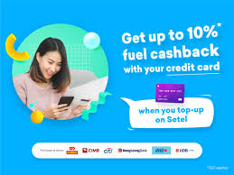 earn cashback with credit card top up