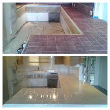 painting kitchen tile countertops painted