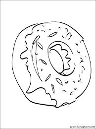 Donut Kleurplaten Gratis Kleurplaten