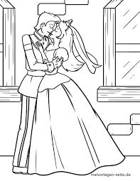 Kleurplaat Prinses Kusjes Prins Gratis Kleurpaginas Om Te Downloaden