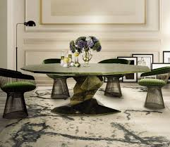 image of placed large round rugs