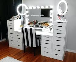 makeup room ideas setup furniture design wall decor art housekeeping ikea