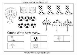 Number Worksheets For Kindergarten 1 10 – desiaustralia.co