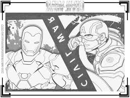 Coloring Pages Lego Captain America Civil War Coloring Pages