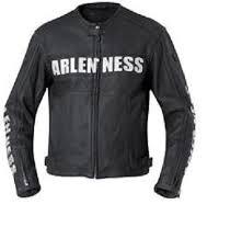 vintage style leather jacket