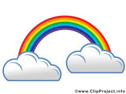Arc En Ciel Dessin Gratuit Nuages Image Gratuite Temps Images