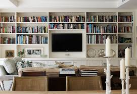 Bookshelves Living Room Simple Floor To Ceiling Bookshelves With Tv Wonderful Interior Design For