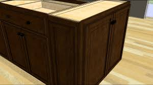Kitchen Furniture Island Kitchen Design Tip Designing An Island With Wall Cabinet Ends