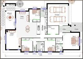 House Plans Bedroom Modern Plan Custom