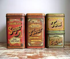 389 best canisters images on vintage kitchen vintage in vintage metal kitchen canisters