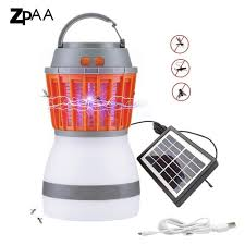 Led Waterproof Mosquito Killer Camping Lamp Usb Rechargeablesolar