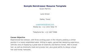 Hair Stylist Resume Best Hair Stylist Resume Templates Free Hair Stylist Resume Templates