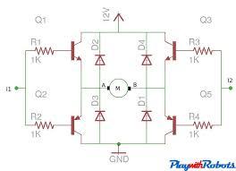 transistor h bridge