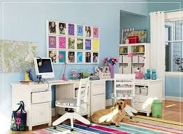 colorful home office. Traditional But Colorful Home Office