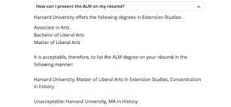 Resume Guidelines Magnificent Harvard Extension School Résumé Guidelines Are Bogus Ipso Facto