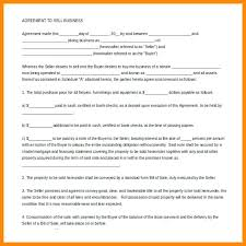 Business Sale Agreement Template Free Download Best Of Sample Bill ...