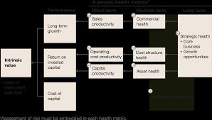 measuring long term performance company generic metrics for a company s health