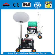 Truck Mounted Led Light Tower Hot Item Portable Led Mo 2050l Towable Vehicle Mounted Light Tower