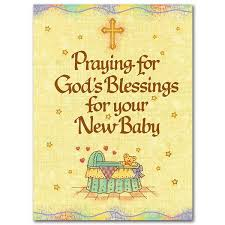 Congratulate On New Baby Praying For Gods Blessings For Your New Baby Baby Congratulations Card