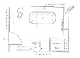 water closet size dimensions of toilet standard