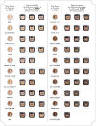 Mineral Makeup Shade Comparison Saubhaya Makeup