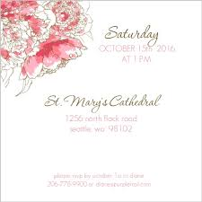 memorial service invitation pink peony funeral service invitation memorial pinterest