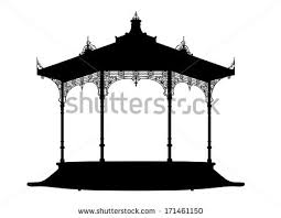 gazebo vector png. shadow of a bandstand gazebo vector png t