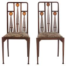 art deco furniture north london. art nouveau marquetry inlaid chairs by liberty and co deco furniture north london d