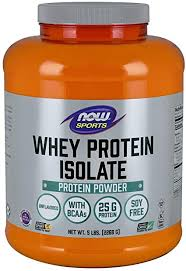 NOW Sports Nutrition, Whey Protein Isolate, 25 G With ... - Amazon.com