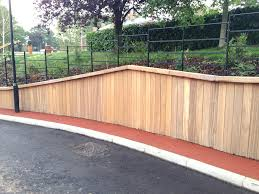 ideas landscape timber retaining wall system