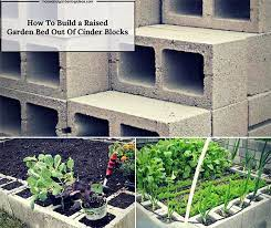 how to build a raised garden bed out of