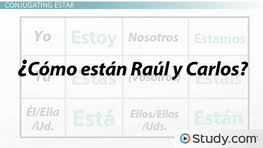 Spanish Tener Chart Spanish Expressions That Use Tener Video Lesson