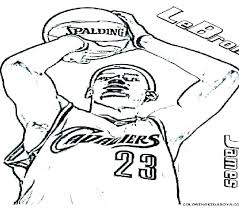 Coloring Pages Nba Coloring Coloring Pixels Online