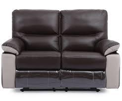 Light Grey Leather Recliner Sofa Naomi Leather Recliner Sofa Set Brown Light Grey