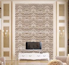 Kitchen Backsplash Wallpaper Washable Wallpaper For Kitchen Backsplash Brick White Peel And