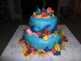 Birthday Cake Designs For 3 Year Olds Coolest Nemo Birthday Cake For A 3 Year Old Boy 3 Year Old
