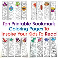 Business printable blank bookmark template download. Ten Printable Bookmark Coloring Pages To Inspire Your Kids To Read Scribble Stitch