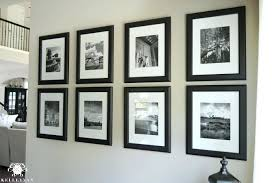 wall gallery ideas gallery wall ideas black and white vacation photos gallery wall ideas behind tv
