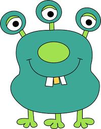 monster clip art cartoon free clipart images 4