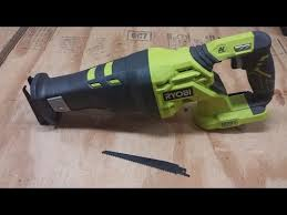 ryobi reciprocating saw. user submitted video ryobi reciprocating saw a