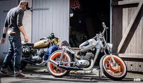 mz ts 125 bobber motorcycle found on www werkshalle com from