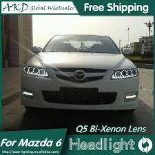 2006 Mazda 6 Lights Car Styling Mazda 6 Headlights Mazda6 Led Headlight 2006