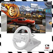 Sale Vô Lăng Đua Xe Cho Máy Chơi Game Wii Mario Kart rẻ